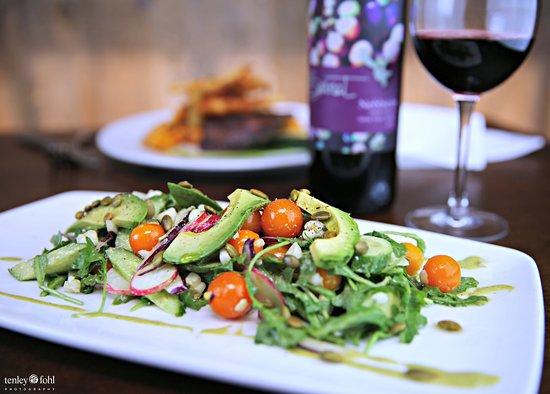 Los Olivos, Kaliforniya: Summer Salad