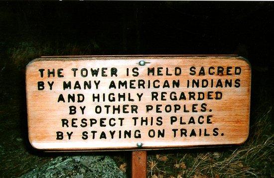 Снимок Devils Tower