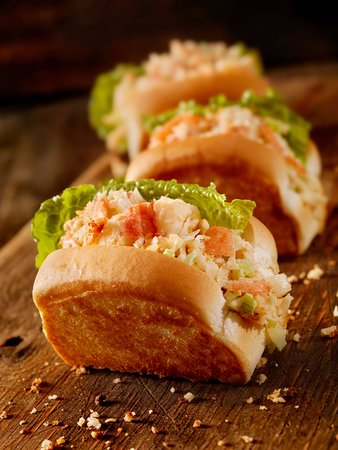 Castlegar, Canada: Lobster Roll Sliders