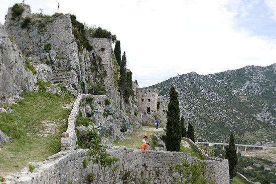 Клис, Хорватия: Три уровня крепости