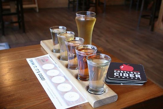 Clackamas County, OR: Cider flight