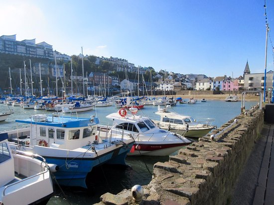 Ilfracombe harbour October 2016