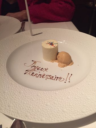 Le Bernardin Birthday Gift From The Restaurant