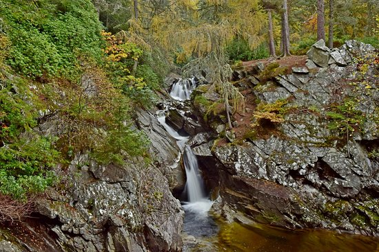 Perth and Kinross, UK: More of the falls