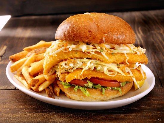 Joey's Restaurants: The OgopoJoe Fish Sandwich