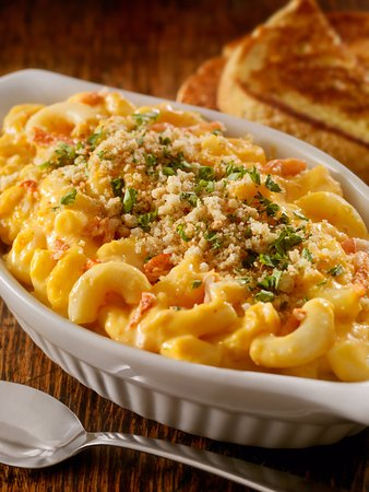 Cornwall, كندا: Shrimp and Lobster Mac & Cheese