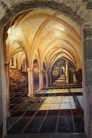 Entremont, France : visite musée puis de l'église du XIIeme