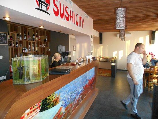 Viljandi, Estonia: Restauranginteriör