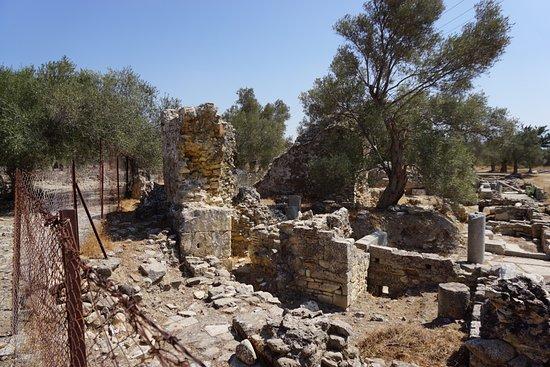 Heraklion Prefecture, Grèce : развалка