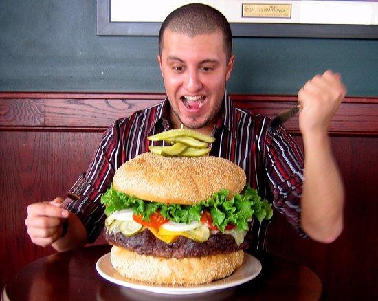 Southgate, MI: 10lb Monster Burger Challenge