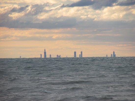 Chesterton, Ιντιάνα: Chicago skyline.