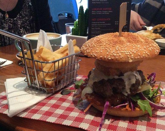 Пальмерстон-Норт, Новая Зеландия: Burger