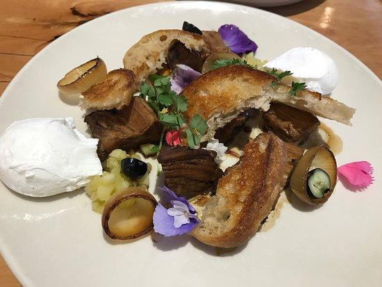 Richmond, Australia: Pork belly