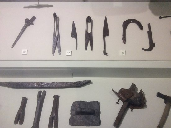 Hexham, UK: Amazing Roman tools.