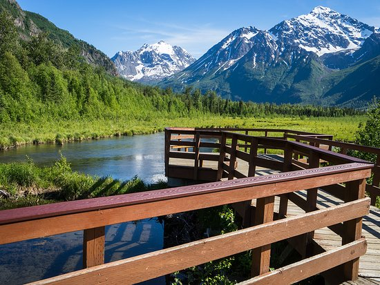 Anchorage, AK: Scenic shots abound at the Eagle River Nature Center.