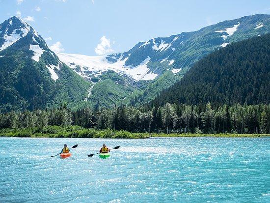 Anchorage, AK: Several glaciers are located in the Portage Valley.