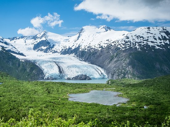 Portage Glacier is the no. 1 visitor attraction in Anchorage.