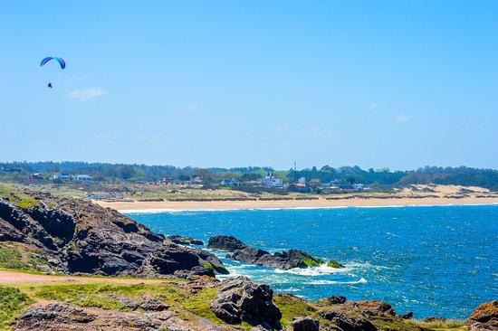 Punta Ballena, أوروجواي: Vista do Mirador Punta Ballena