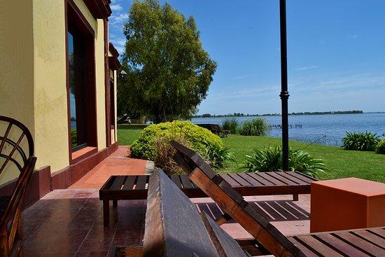 Estancia La Alameda: Para disfrutar de la vista, el sol y la laguna.