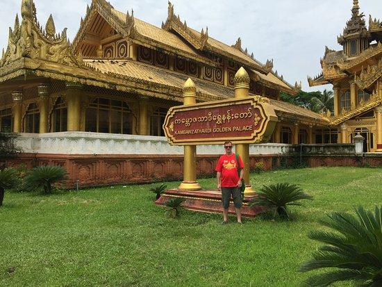 Bago, Birmânia: outside on arrival