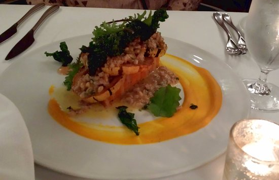 Artistry on the Green: Sweet Potato and Squash Pave - surprising winner!