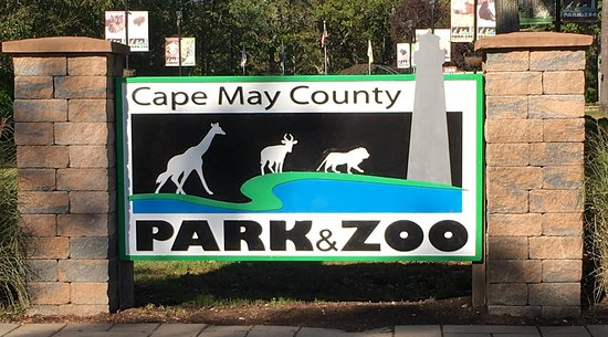 Cape May County Park & Zoo: Sign