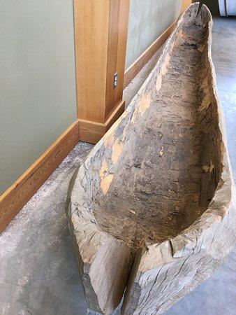 Onawa, IA: Dugout canoe