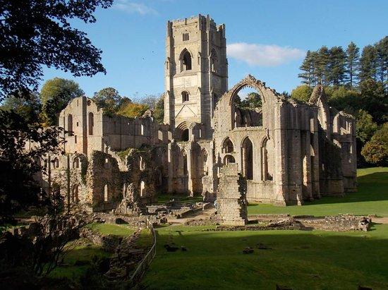 Ripon, UK: The abbey