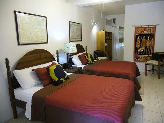 Punta Gorda, Belice: Double lodge room