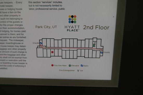 Room Layout Map Picture of Hyatt Place Park City Park City