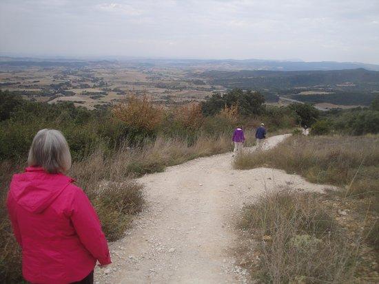 Zizur Mayor, Espagne : Downhill from here