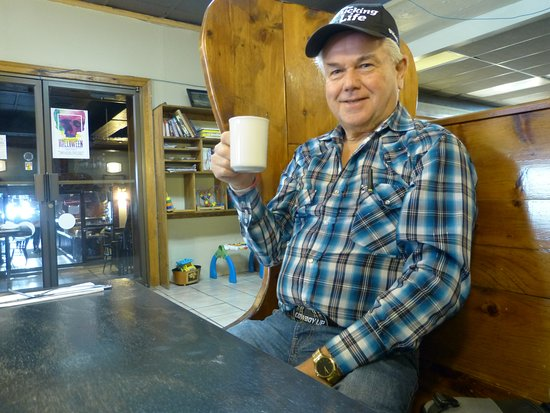 Thorold, Canada: Coffee time in Hana's