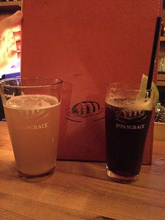 Baie Comeau, Canada: Bière et cocktail