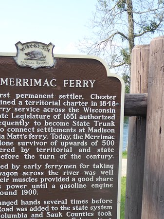 Merrimac, WI: The history