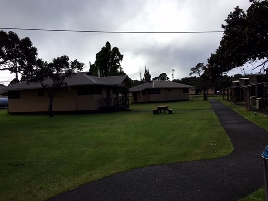 Kilauea Volcano Military Camp Photo