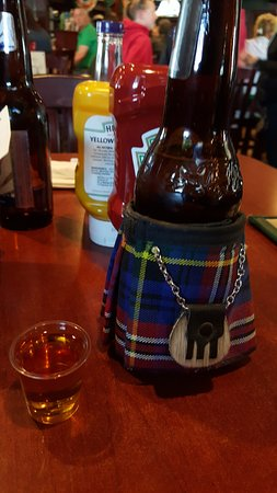 Richmond, IL: Shots of Jameson and a kilt!! Irish style!