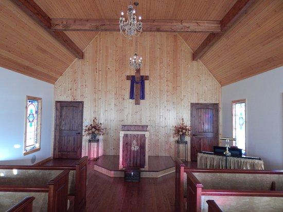 Lyons, GA: chapel indoor