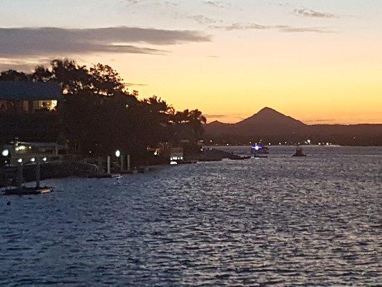 Noosaville, Australië: Sunset glow