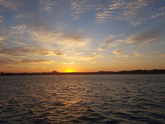 Noosaville, Australië: Sun just setting