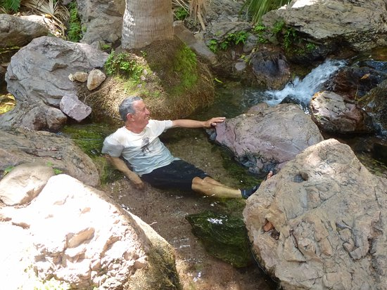 Kununurra, Australien: Enjoying the warm water!
