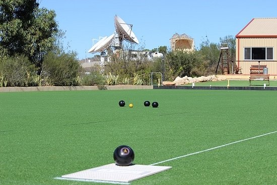 Carnarvon, Australia: Our Bowling Green