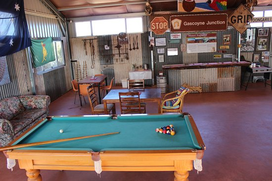 Carnarvon, Australia: Our Entertaining Shed