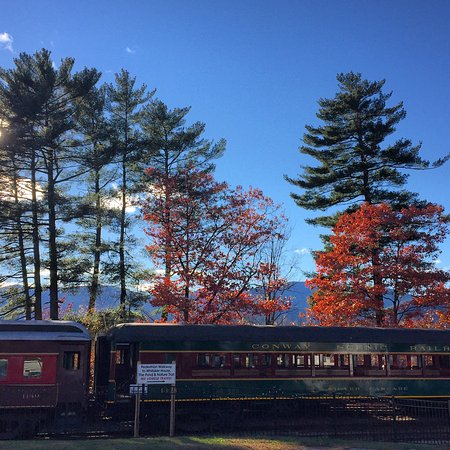 Conway Scenic Railroad, end of October.
