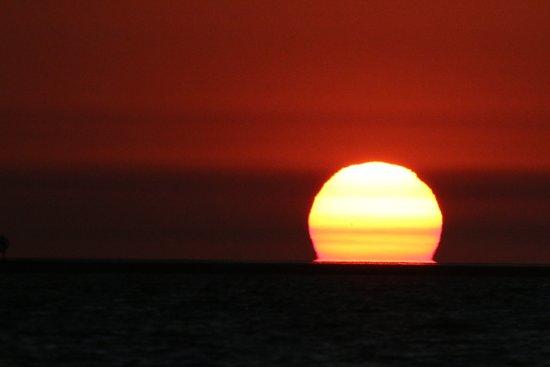 sunset at Karumba