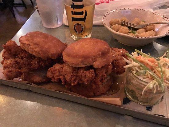 Denton, TX: Chicken Biscuit Large Plate