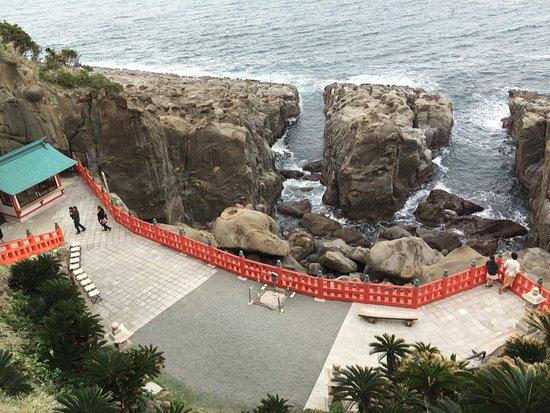 Nichinan, Giappone: 崖の上です