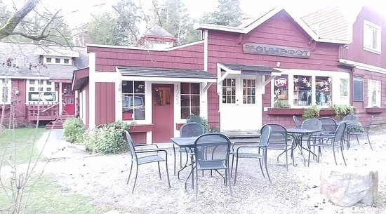 Sechelt, Kanada: The GumbootCafe, Roberts Creek