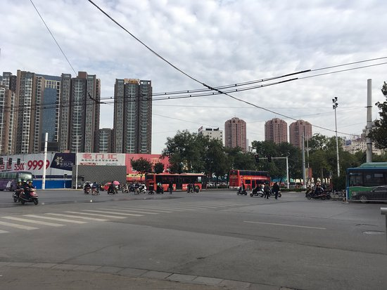 Zhengzhou, China: the area