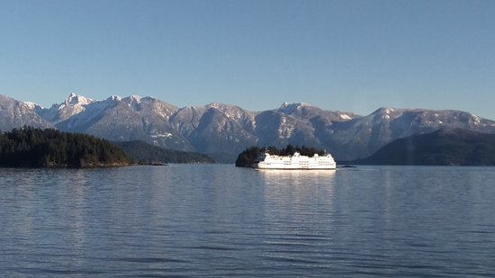 Sechelt, Канада: Howe Sound, the view from the ferry is spectactular