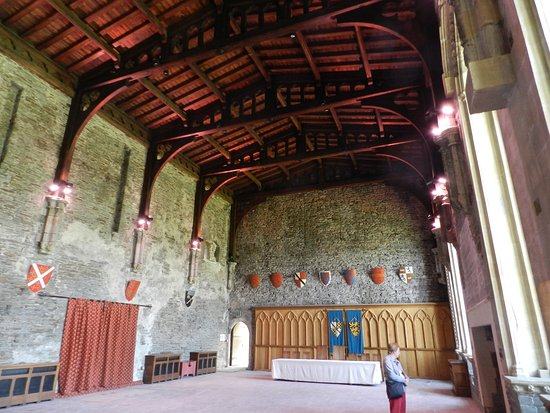 Caerphilly, UK: Reconstructed Great Hall